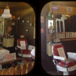 Old Tyme Barbershop display