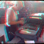 Old fashioned letterpress at Pioneer Hall