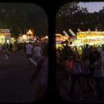 Evening at the fair.